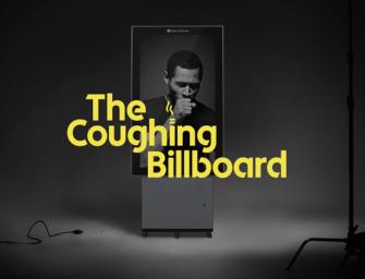В Швеции появился кашляющий билборд