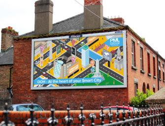Ирландское агентство PML Group продвигает OOH медиа как составную часть smart city