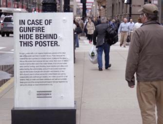Пуленепробиваемые постеры бросили вызов закону о контроле над оружием