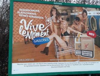 Бундестаг не принимает закон о запрете наружной рекламы табачных изделий