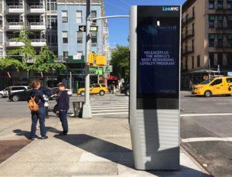 Нью-йоркские рекламно информационные терминалы LinkNYC раздали интернета на $15 млн