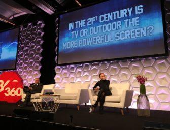 На австралийской конференции Mumbrella360 обсудили роль ТВ и DOOH в современном мире