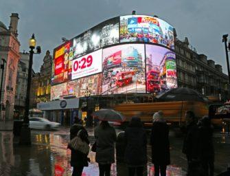 Объём OOH индустрии Великобритании во втором квартале 2017 года составил $684 млн