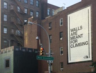 North Face в рекламной кампании обыграл обещание Дональда Трампа построить стену на границе с Мексикой