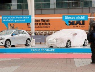Car2go разместил в аэропорту Мюнхена автомобили в овечьей шкуре