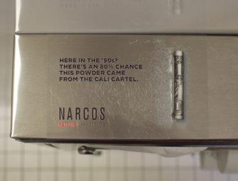 Netflix проводит подпольную OOH кампанию «Нарко» в туалетах ночных клубов