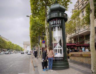 Netflix наполнил рекламные тумбы в Париже кокаином