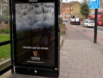 Guinness построил OOH кампанию на поведенческих данных о любителях стаута