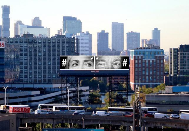Twitter-billboard