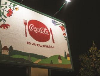 Для Coca-Cola в Сербии связали билборд