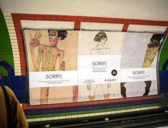 Реклама выставки работ Шиле подверглась цензуре
