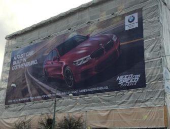 BMW возвращается к войне билбордов. Теперь с Volvo