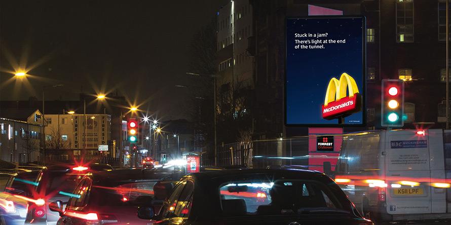 McDonald's-stuck-in-jam-billboard