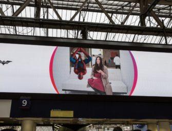 DOOH и AR: неожиданная встреча на лондонском вокзале