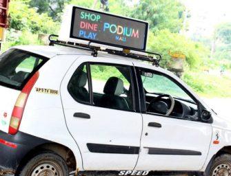 Индийский стартап Adonmo делает таргетируемую рекламу на такси