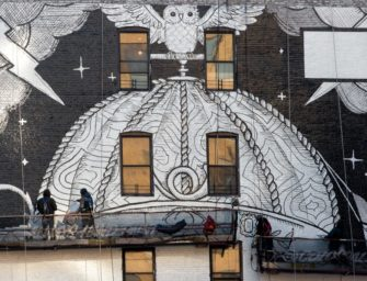 Gucci к Неделе моды в Нью-Йорке создал мурал в Сохо