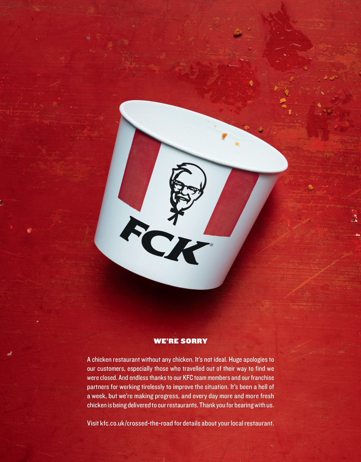 KFC-FCK-Apology-Chicken-Shortage