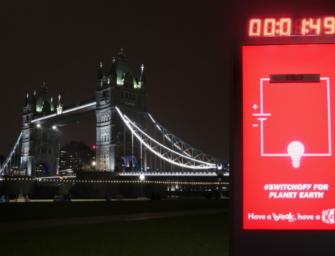KitKat отдохнул от электричества в Час Земли