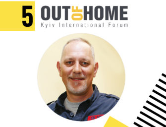 Андрей Никитич — докладчик Out Of Home Forum '18
