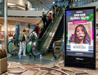 Absolut запустил интерактивную сэлфи-кампанию в аэропортах