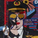 Delta Pilot Alphabet mural