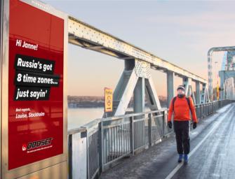 Шведские диванные стратеги с помощью наружной рекламы дают советы тренеру национальной сборной по футболу