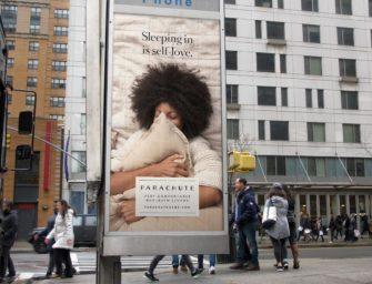 Домашний текстиль Parachute дразнит амбициозных жителей Нью-Йорка эскапистской рекламой