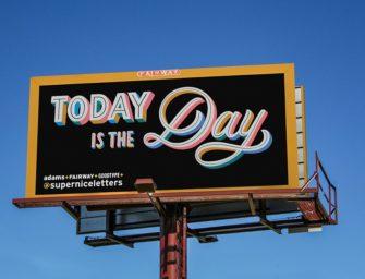 700 билбордов в 21 штате — под позитивные и вдохновляющие сообщения