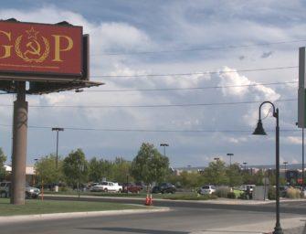 Американка арендовала билборд для критики республиканцев