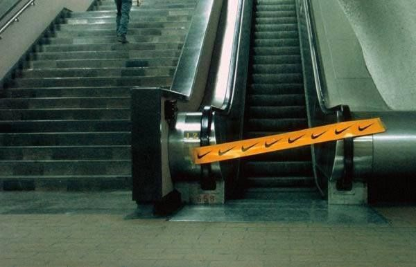 Nike-Escalator-Sabotage