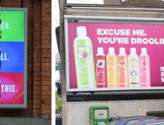 В Ирландии все больше наружной рекламы здоровой еды и напитков