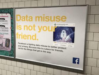 Facebook продает онлайн-рекламу, а выручку тратит на билборды