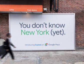 Реклама Google Maps в Нью-Йорке усомнилась в знании города жителями