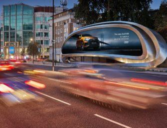 JCDecaux и Zaha Hadid Design представили новый вид рекламной конструкции