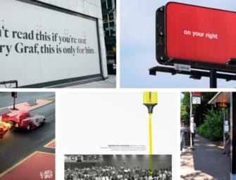 Британские рекламисты о самых действенных OOH-кампаниях года