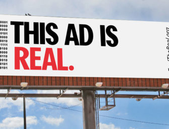 В США проходит гигантская промо-кампания OOH-медиа: 'Feel the Real'