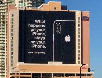 Apple подчеркнула, что не продаёт данные пользователей — «в отличие от конкурентов»