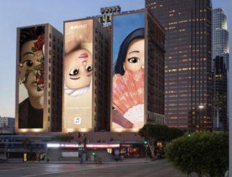Билборды с мемоджи номинантов «Грэмми» продвигают Apple Music