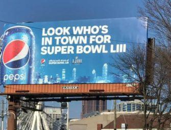 Не рекламные ролики, а билборды — вот о чем говорили американцы в преддверии Супербоула