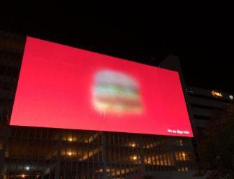 Брендинг McDonald's достаточно узнаваем для экспериментов в импрессионизме