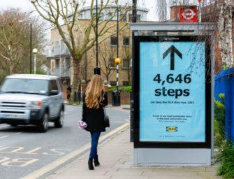 IKEA подсчитала покупателям путь до своего магазина в шагах
