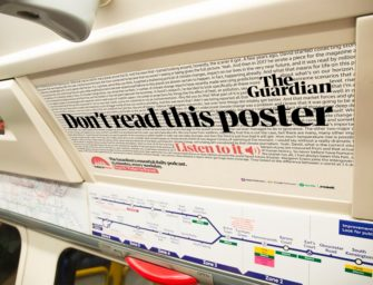 The Guardian: «Не читайте плакат, лучше слушайте»