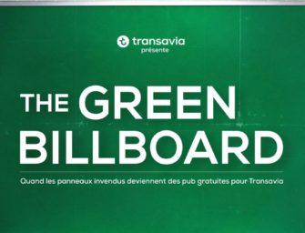 Transavia запустила OOH-кампанию на тысяче плоскостей, не заплатив за них ни цента