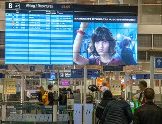 Крупнейшие аэропорты Германии создали премиальную DOOH-сеть