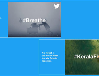 Твиттер проводит в Индии рекламную кампанию 'We Tweet'