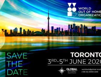 Конгресс World Out of Home Organization 2020 состоится в Торонто