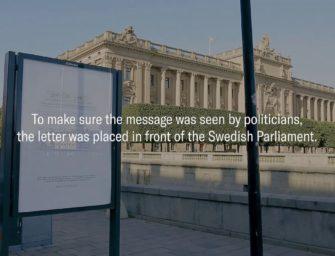 Make a Change использовала письма самоубийц в антибуллинговой OOH-кампании