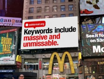 В США проходит гигантская промо-кампания OOH-медиа: 'OOH isReal'