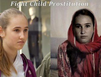 Free A Girl использовали технологию замены лица в социальной кампании