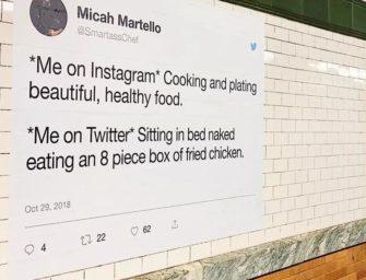 Для общения с пользователями в «реале» Twitter использует OOH-медиа